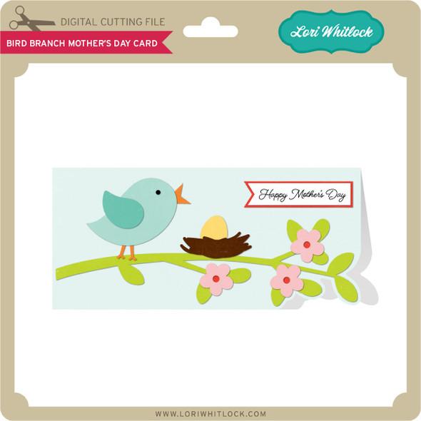 Bird Branch Mother's Day Card