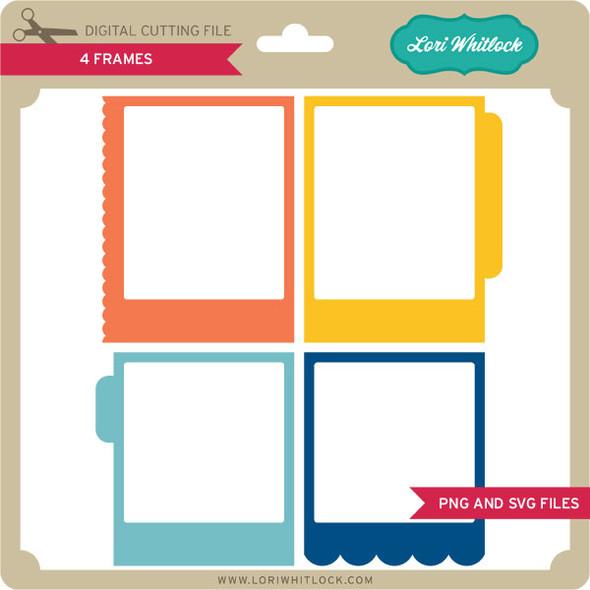 4 Frames PNG and SVG
