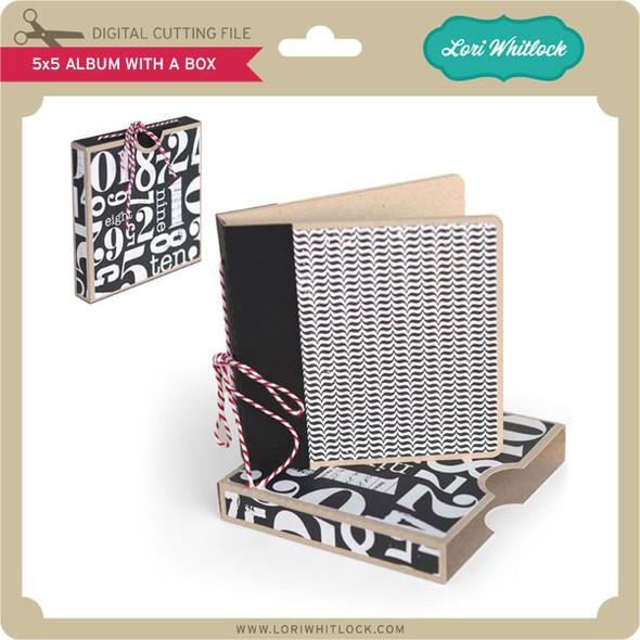 5x5 Album with Box