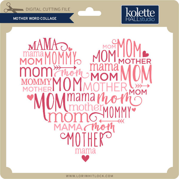 Mother Word Collage
