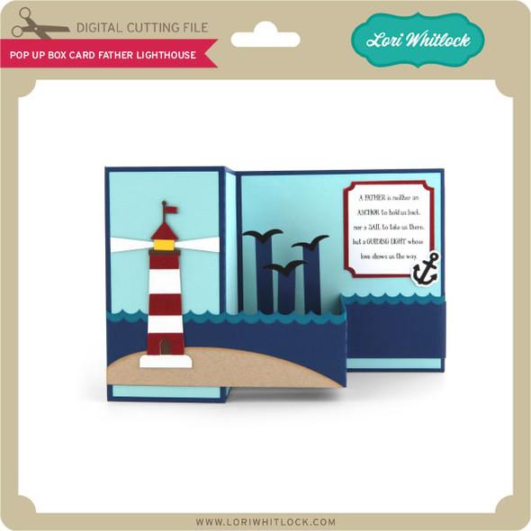 Pop Up Box Card Father Lighthouse