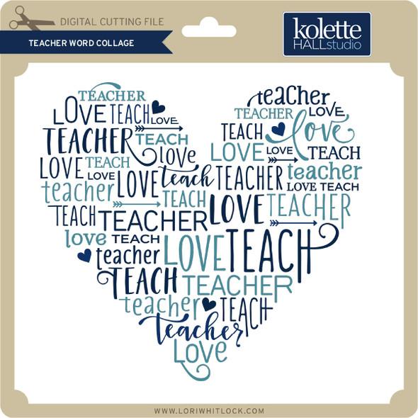Teacher Word Collage