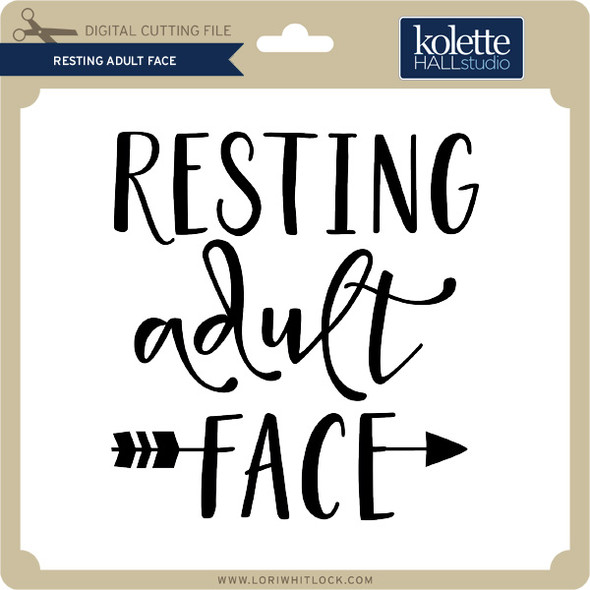 Resting Adult Face