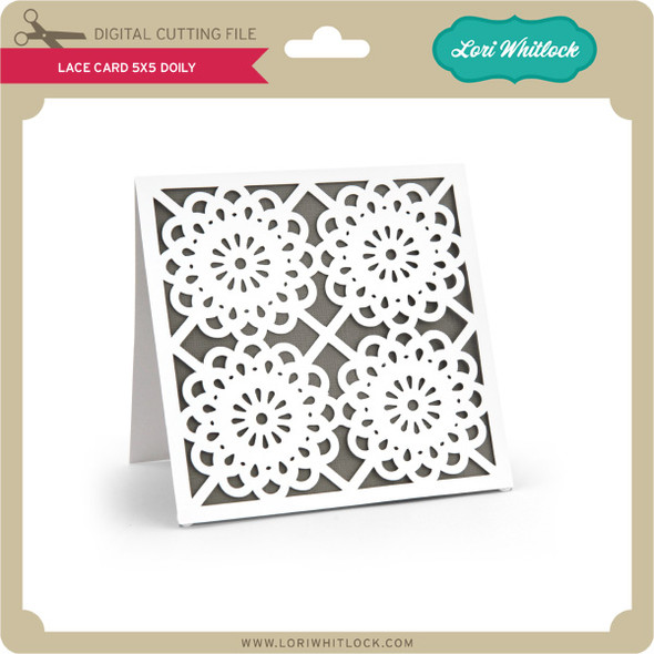 Lace Card 5x5 Doily