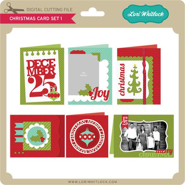 Christmas Card Set 1