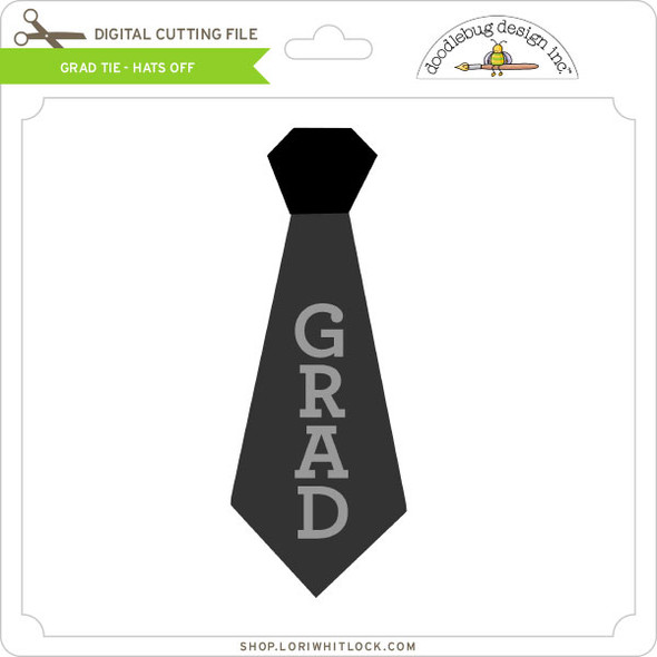 Grad Tie - Hats Off