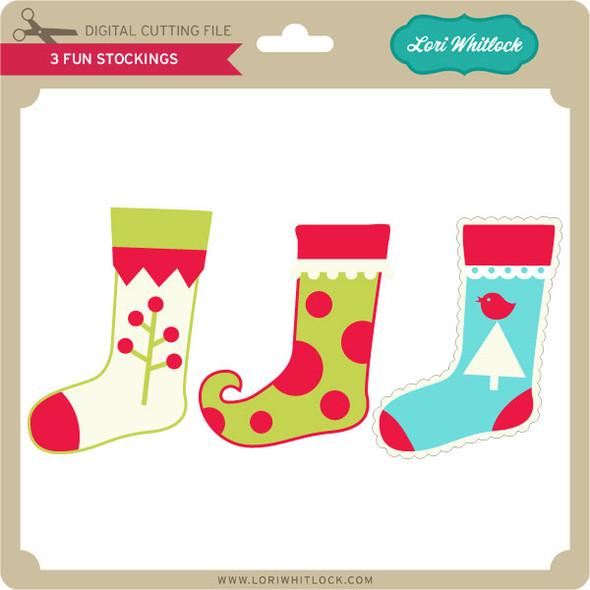 3 Fun Stockings