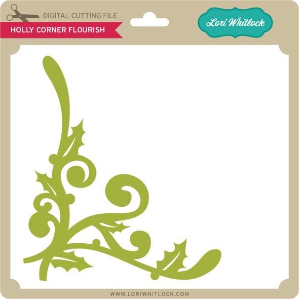 Holly Corner Flourish