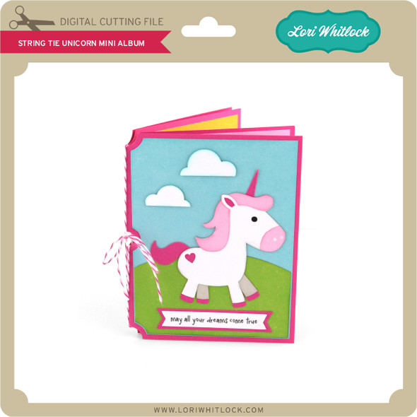String Tie Unicorn Mini Album