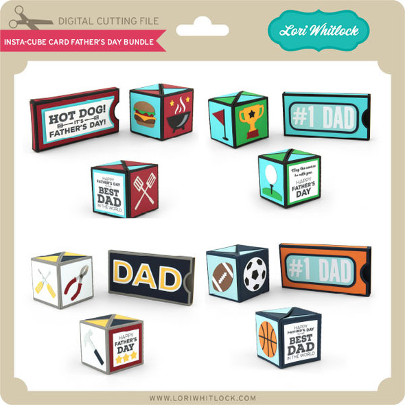 Insta-Cube Card Father's Day Bundle