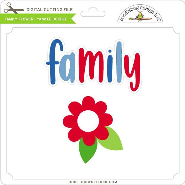 Family Flower - Yankee Doodle