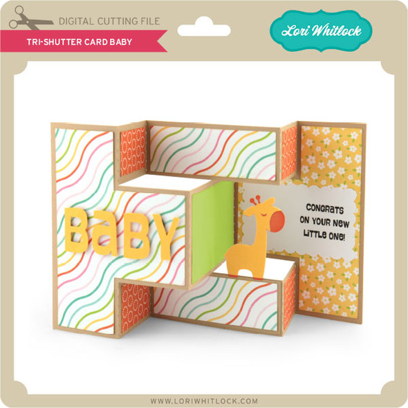 Tri-Shutter Card Baby