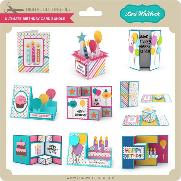 Ultimate Birthday Card Bundle