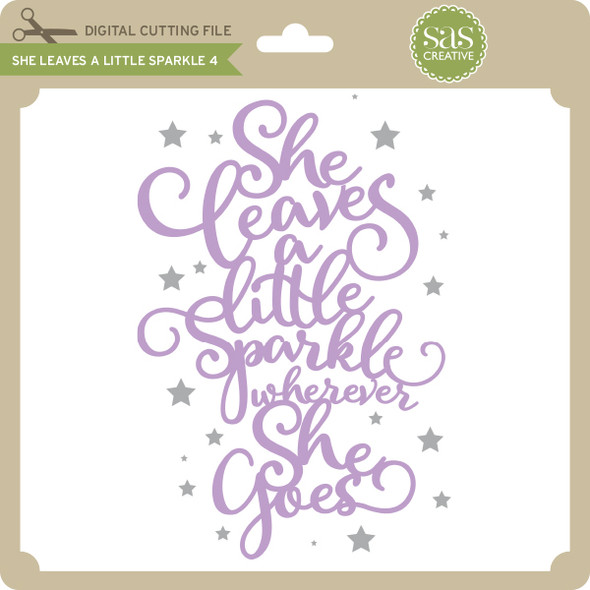 She Leaves A Little Sparkle 4