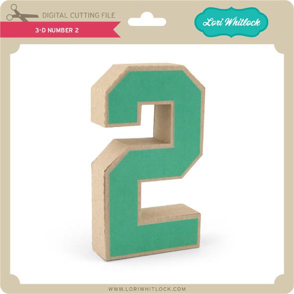 3-D Number 2