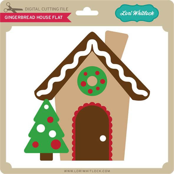 Gingerbread House Flat