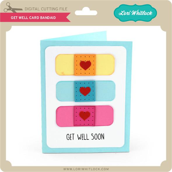 Get Well Card Bandaid