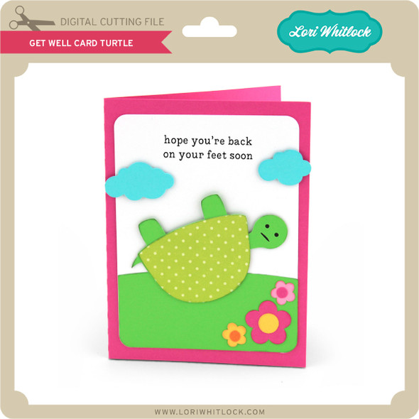 Get Well Card Turtle
