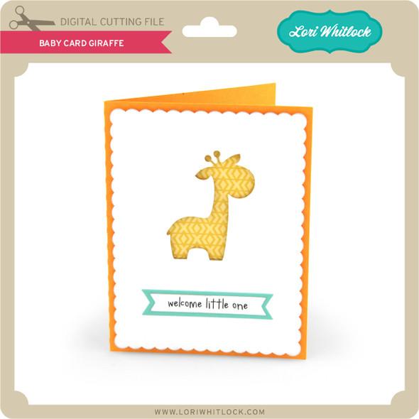 Baby Card Giraffe