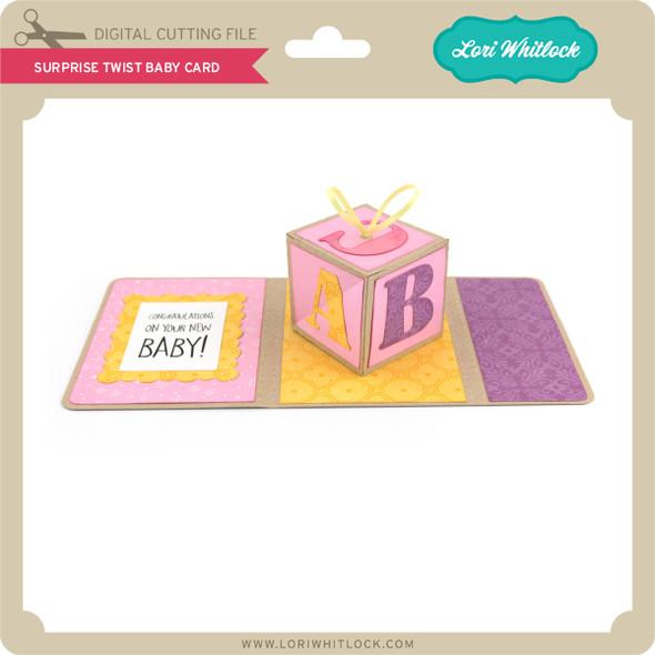 Surprise Twist Baby Card