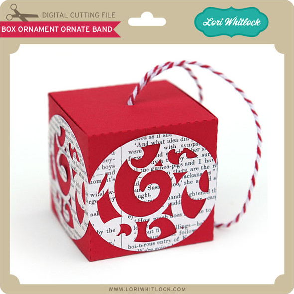 Box Ornament Ornate Band