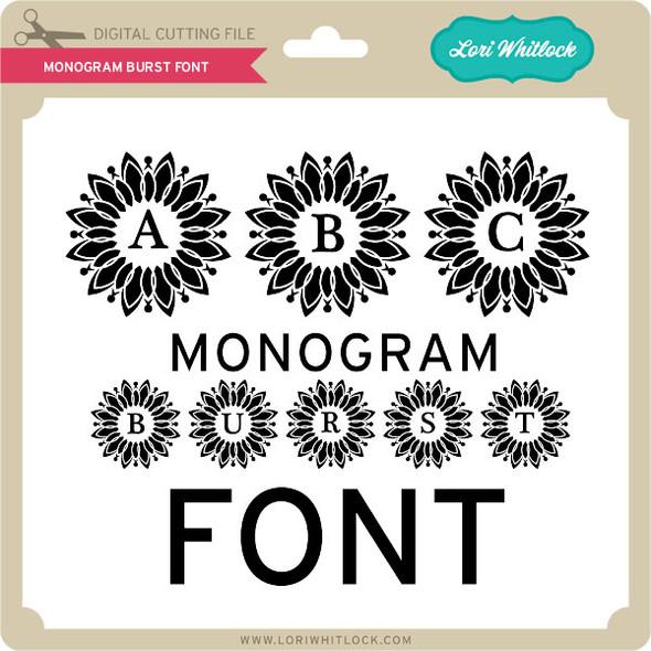 Monogram Burst Font
