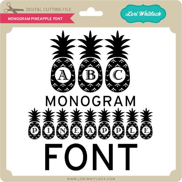 Monogram Pineapple Font