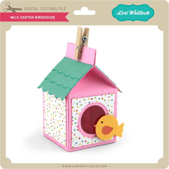 Milk Carton Birdhouse