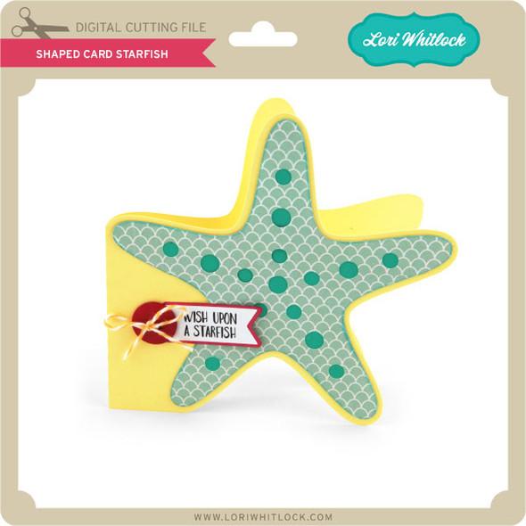 Shaped Card Starfish