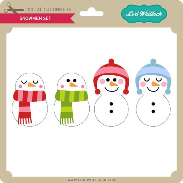 Snowmen Set