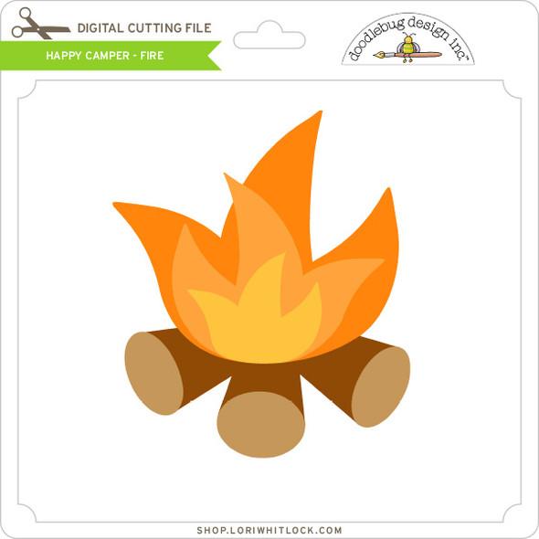 Happy Camper - Fire