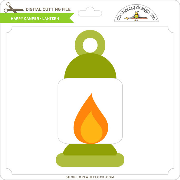 Happy Camper - Lantern
