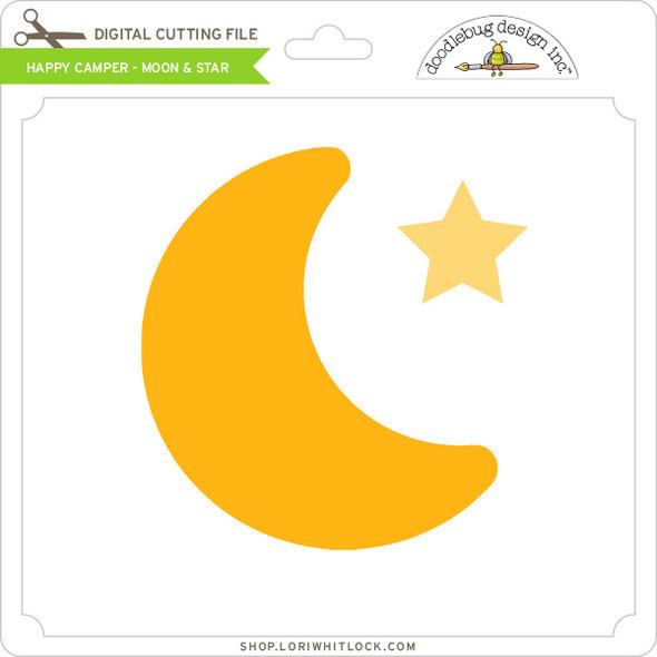 Happy Camper - Moon & Star