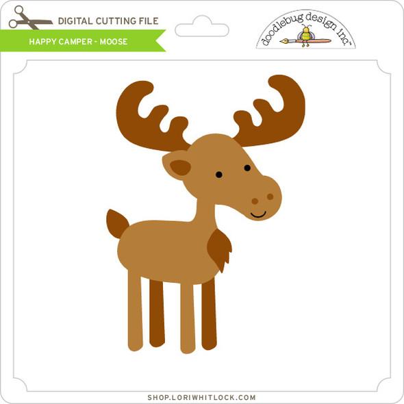 Happy Camper - Moose