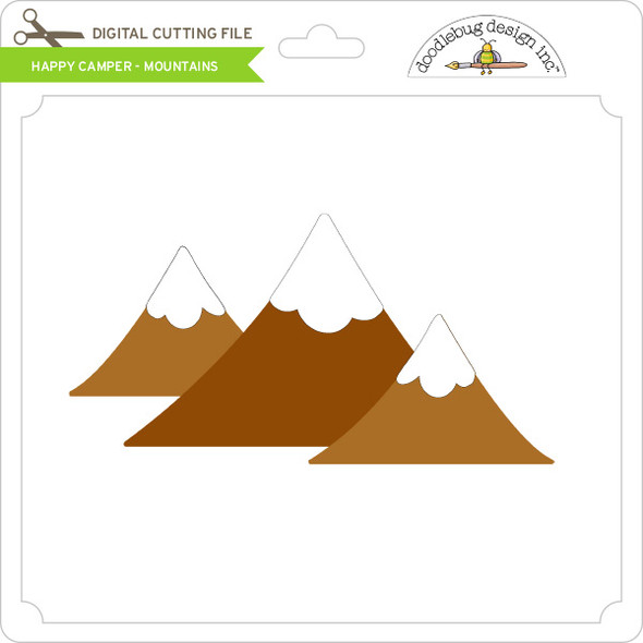 Happy Camper - Mountains