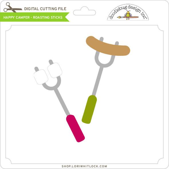 Happy Camper - Roasting Sticks