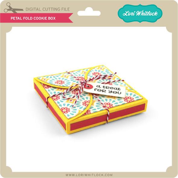 Petal Fold Cookie Box
