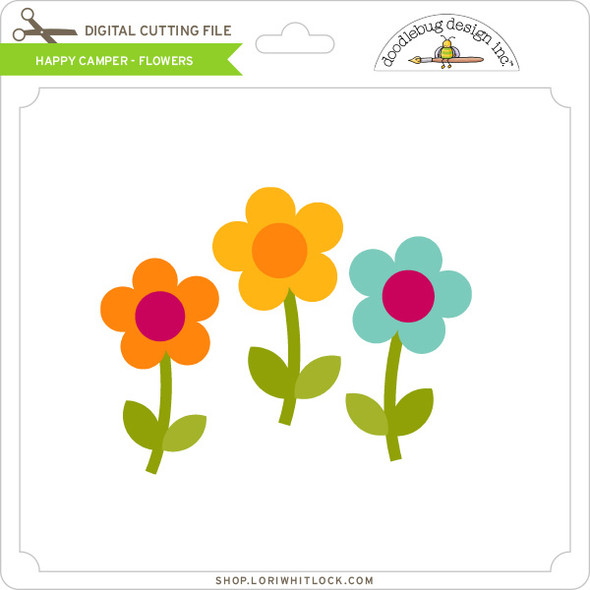 Happy Camper - Flowers