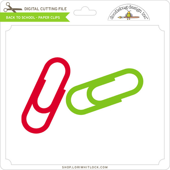 Back To School - Paper Clips