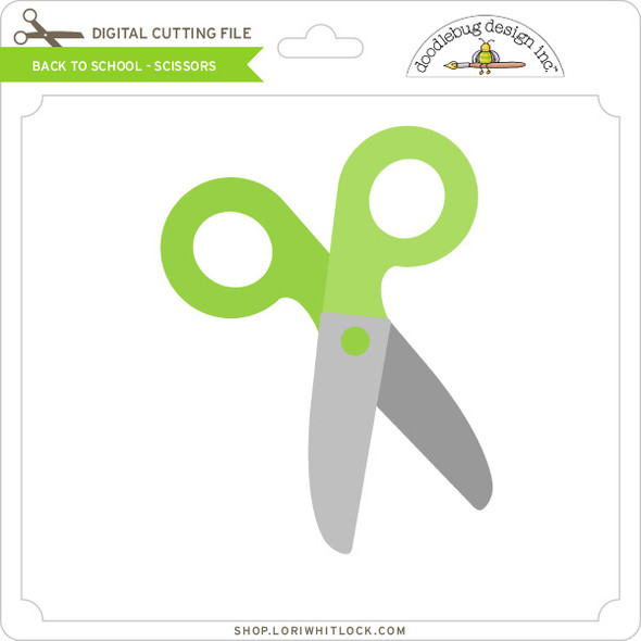Back To School - Scissors
