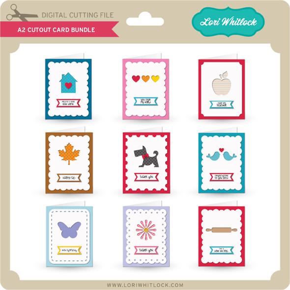 A2 Cutout Card Bundle