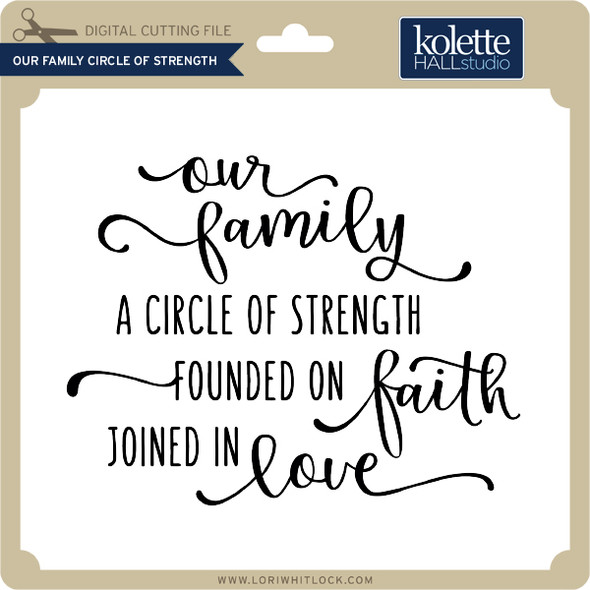 Our Family Circle of Strength