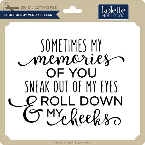 Sometimes My Memories Leak