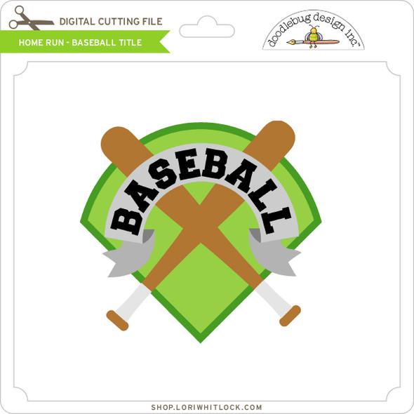 Home Run - Baseball Title