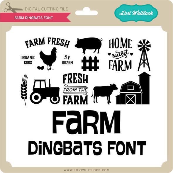 Farm Dingbats Font