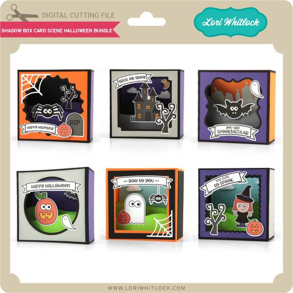 Shadow Box Card Scene Halloween Bundle