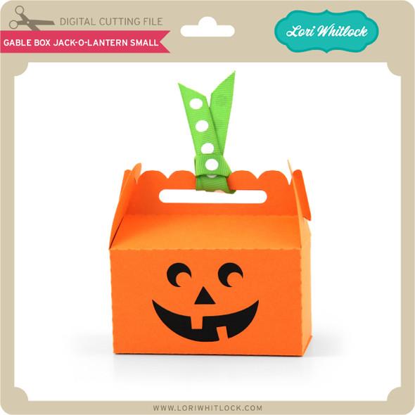 Gable Box Jack O Lantern Small