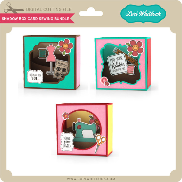 Shadow Box Card Sewing Bundle
