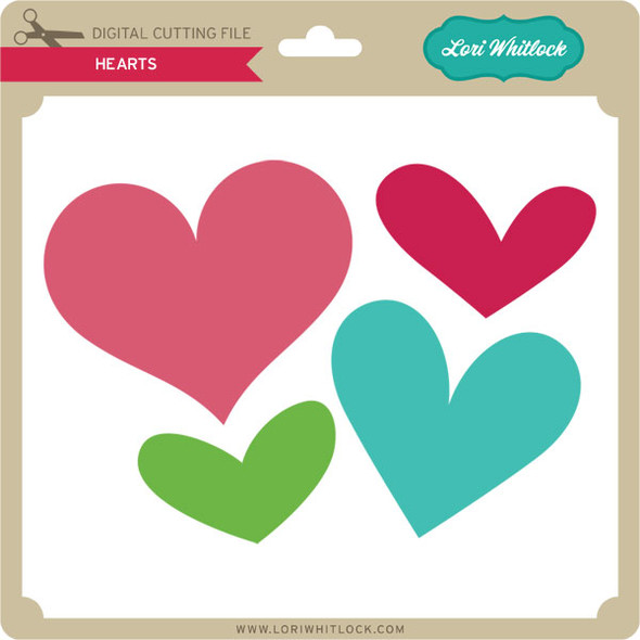 Hearts PNG and SVG