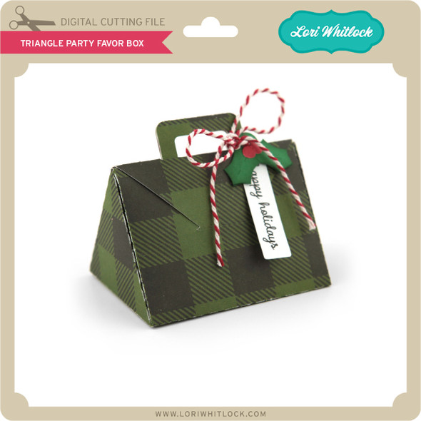 Triangle Party Favor Box